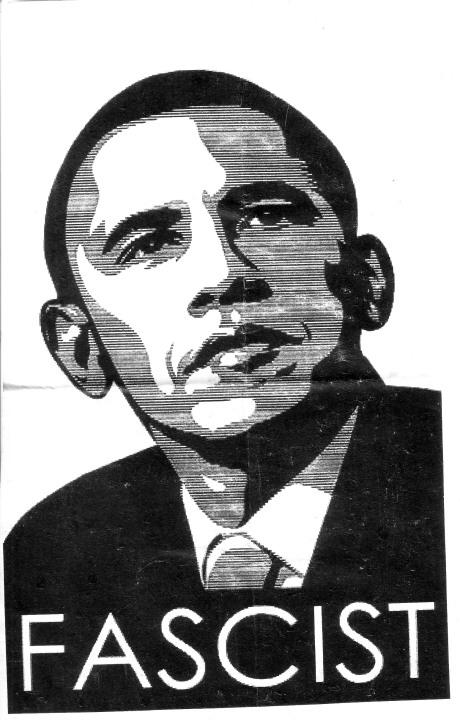 Obama Fascist Handbill