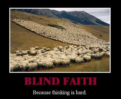 Blind Faith - Because Thinking is Hard