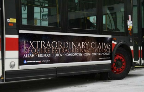Atheist Bus Ads in Canada