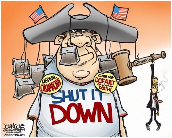 Tea Bagger Shutdown