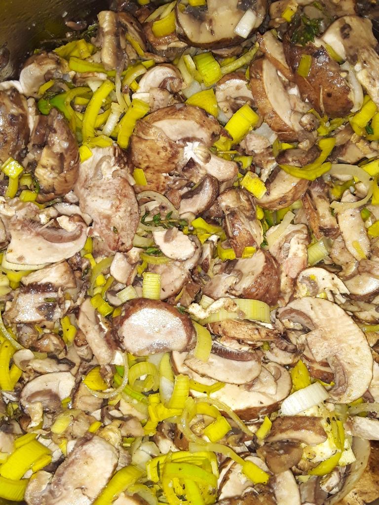 Mushroom Leek and Thyme